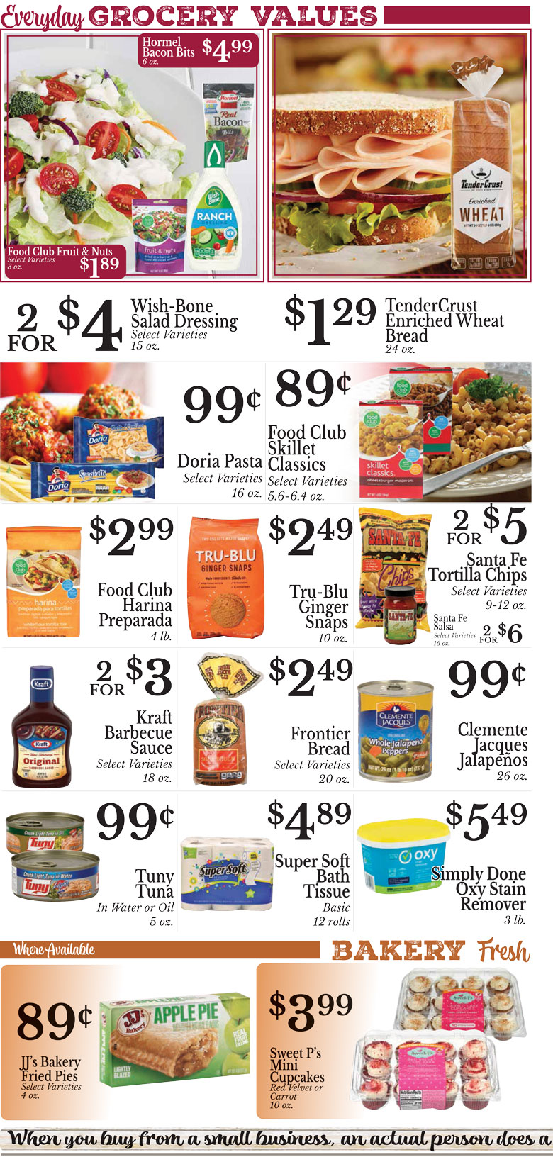 Weekly Ad Page 2